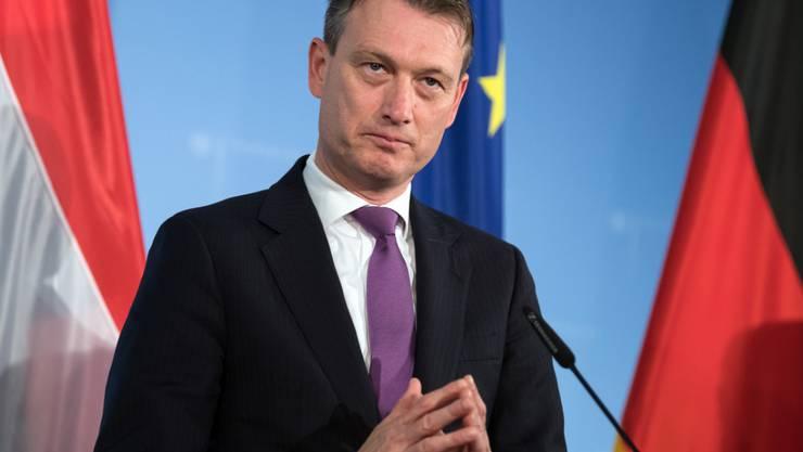 Der niederländische Aussenminister Halbe Zijlstra ist wegen einer Lüge zu einem angeblichen Treffen mit Russlands Präsident Wladimir Putin zurückgetreten. (Archivbild)