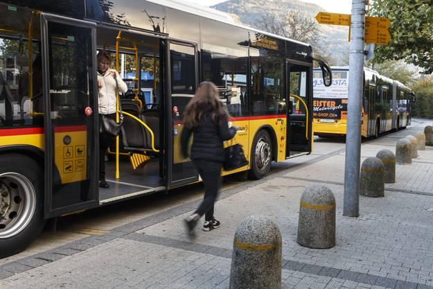 Der Bahnhof Oensingen: Hier hält der Bus nur zu Stosszeiten.
