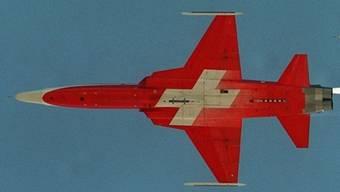 Eine Maschine der Patrouille Suisse (Symbolbild)