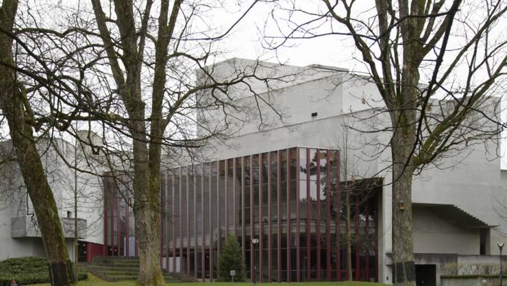 """Das Theater St. Gallen will in der letzten Spielzeit vor der grossen Sanierung des Theatergebäudes beim Stadtpark nochmals """"Theater total"""" bieten. Am Donnerstag wurde der Spielplan präsentiert. (Archivbild)"""