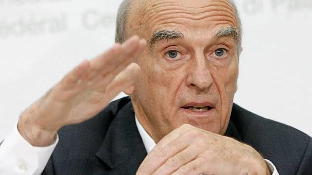 Finanzminister Hans-Rudolf Merz (Archiv)