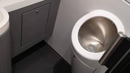 So sieht das Männer WC im Giruno aus.