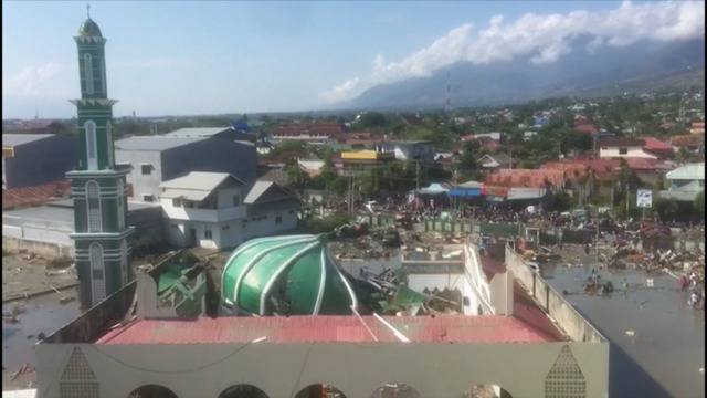 Erdbeben auf Sulawesi: Bildern zeigen Ausmass der Zerstörung