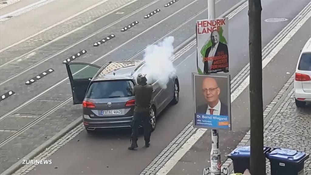 Synagogen-Attentäter in Halle plante vermutlich Blutbad