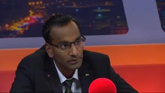 Naveen Hofstetter spricht in der Sendung «TalkTäglich» über seine Migrations-Ansage, seine Vergangenheit und wie er zur SVP gefunden hat. Die wichtigsten Aussagen im Zusammenschnitt.