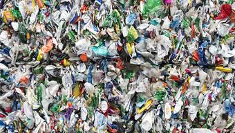 Nur ein geringer Teil des zum Beispiel in Plastikflaschen verwendeten PET wird recycelt, der Rest landet in der Umwelt. Dort braucht es 450 Jahre bis eine PET-Flasche zersetzt ist. Schneller ginge es mit dem neu entdeckten Bakterium. (Archiv)