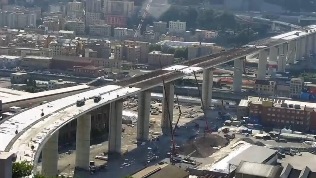 Genua: Der Neubau der «Morandi-Brücke» im Zeitraffer