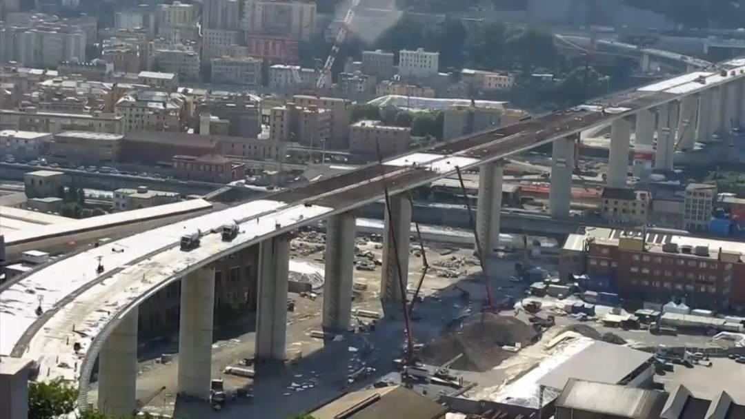 "Genua: Der Neubau der ""Morandi-Brücke"" im Zeitraffer"