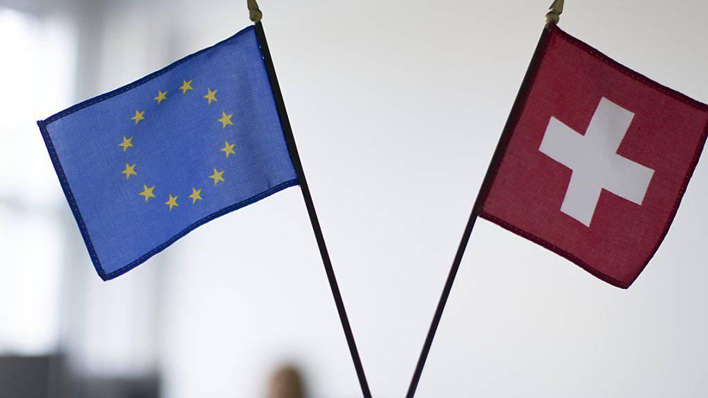 Laut einer Umfrage ist ein Rahmenvertrag mit der EU und fremden Richtern denkbar. (Symbolbild)