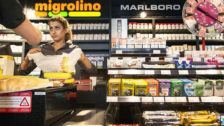 """""""Migrolino"""", """"Coop to go"""" oder """"avec"""": Angesichts des anhaltenden Trends zur schnellen Verpflegung zwischendurch ist es kein Wunder, dass die grossen Detailhändler massiv in ihre Ableger investieren. (Archivbild)"""