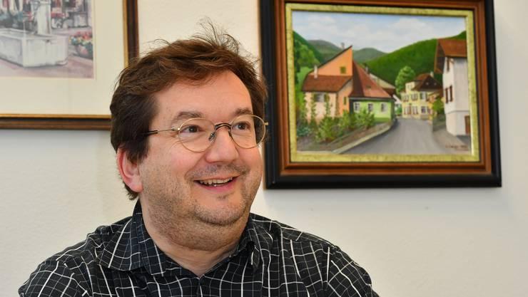 Martin Bühler, Gemeindepräsident von Trimbach (SP).