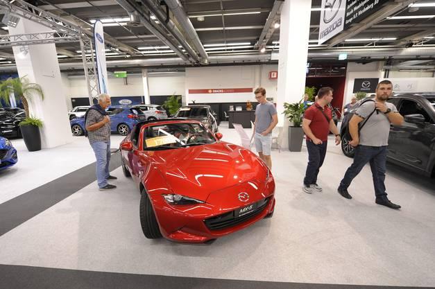 Der neue Mazda mx5.