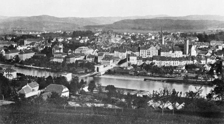 Die Bilder stammen aus dem Buch «Alt-Aarau» und sind um 1900 entstanden.