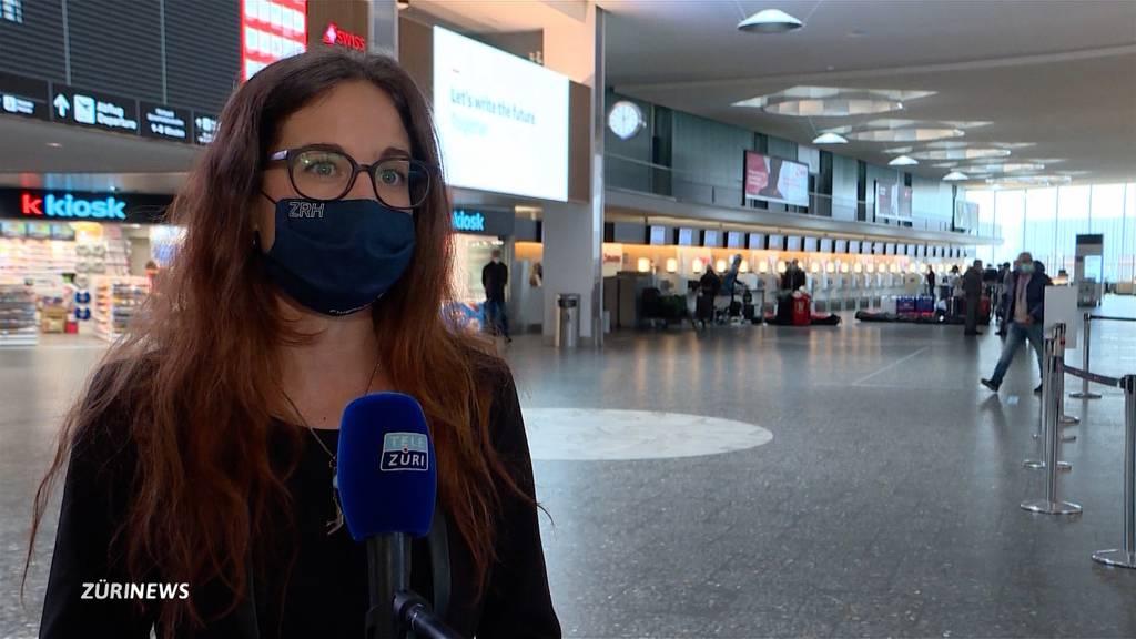 """Neue Corona-Massnahmen für Flugverkehr für Flughafen Zürich """"nicht nachvollziehbar"""""""