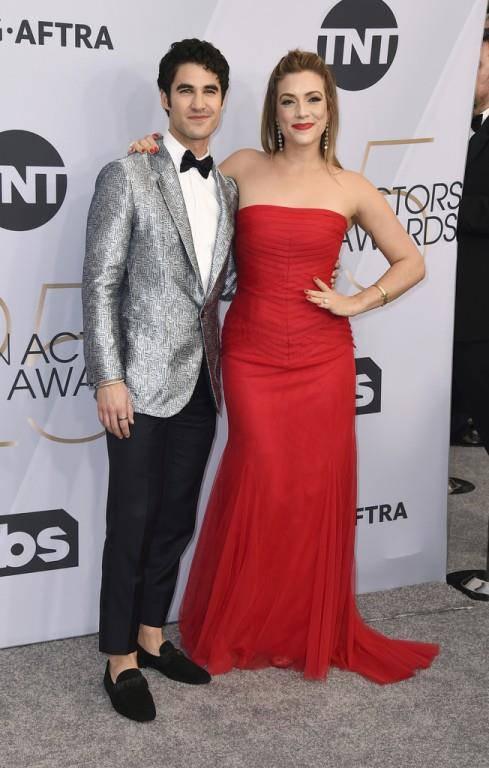 Darren Criss mit Mia Swier (© Keystone)