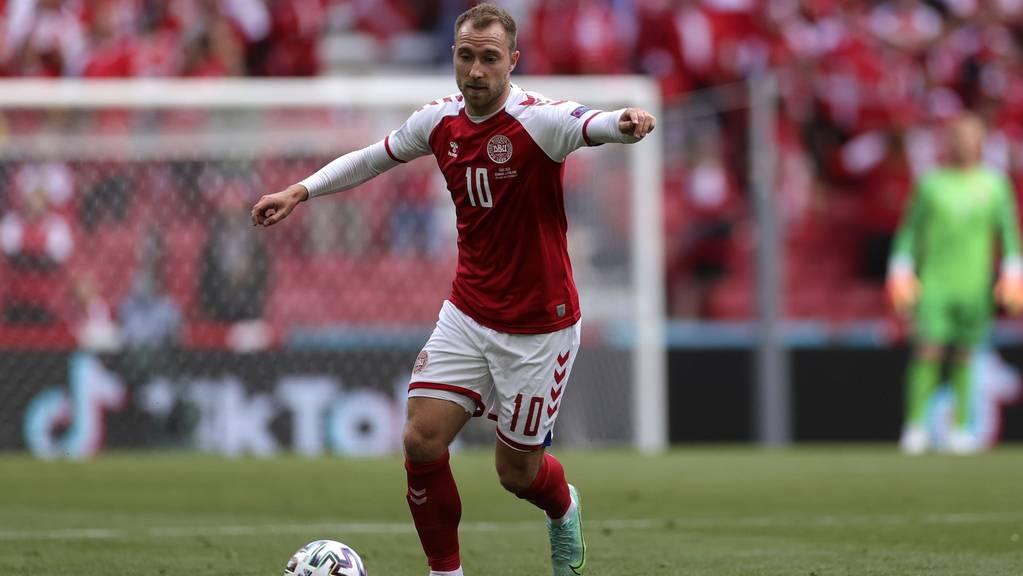 Christian Erkisen brach im EM-Spiel Dänemark gegen Finnland auf dem Spielfeld zusammen.