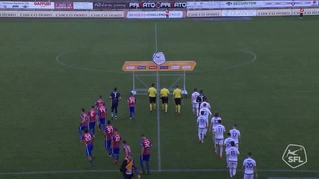 Die kompletten Highlights vom Spiel Chiasso - Wohlen (13. Spieltag 16/17)