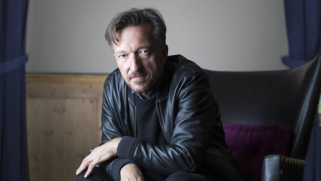 Lukas Bärfuss, hier am Internationalen Literaturfestival von 2017 in Leukerbad.