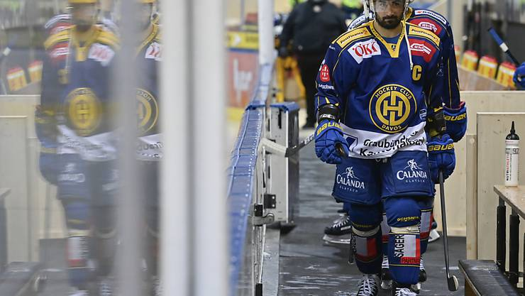 Der HC Davos marschiert in die Quarantäne: Die Spiele gegen die SCL Tigers und Fribourg-Gottéron wurden verschoben