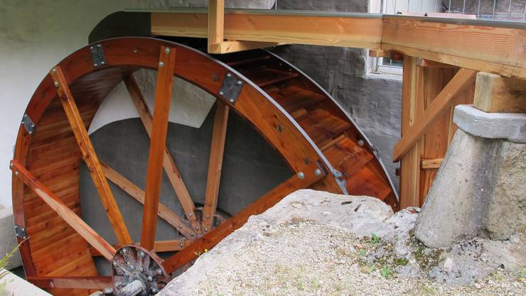 Im Thal dreht das neue Rad, im Thal wurde es hergestellt, nämlich bei der Zimmerei Roth in Mümliswil.