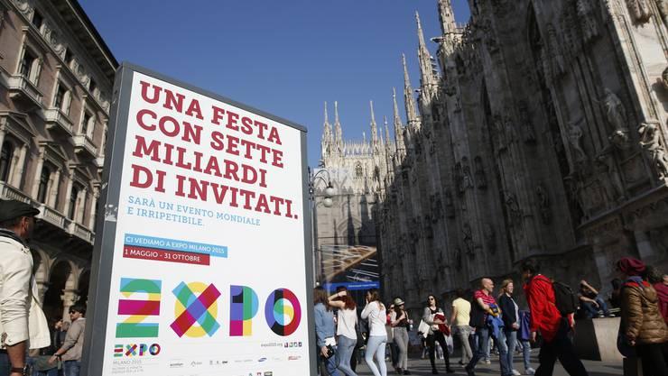 Am 1. Mai beginnt in der lombardischen Hauptstadt Mailand die Expo 2015. Sie dauert bis Ende Oktober.