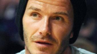 David Beckham arbeitet offenbar an einer eigenen, ganzen Fussballmannschaft (Archiv)