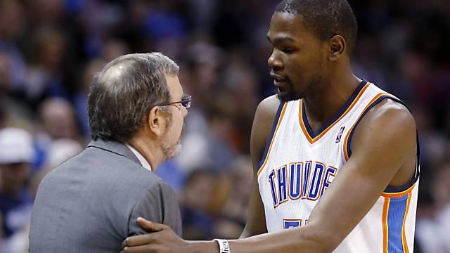 Kevin Durants 27 Punkte nützten Oklahoma nichts.