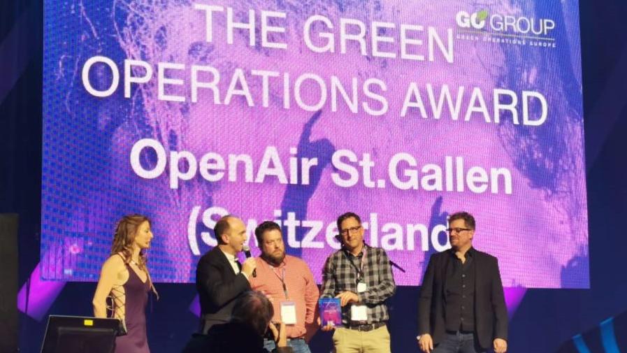 Das OASG ist das grünste Festival Europas