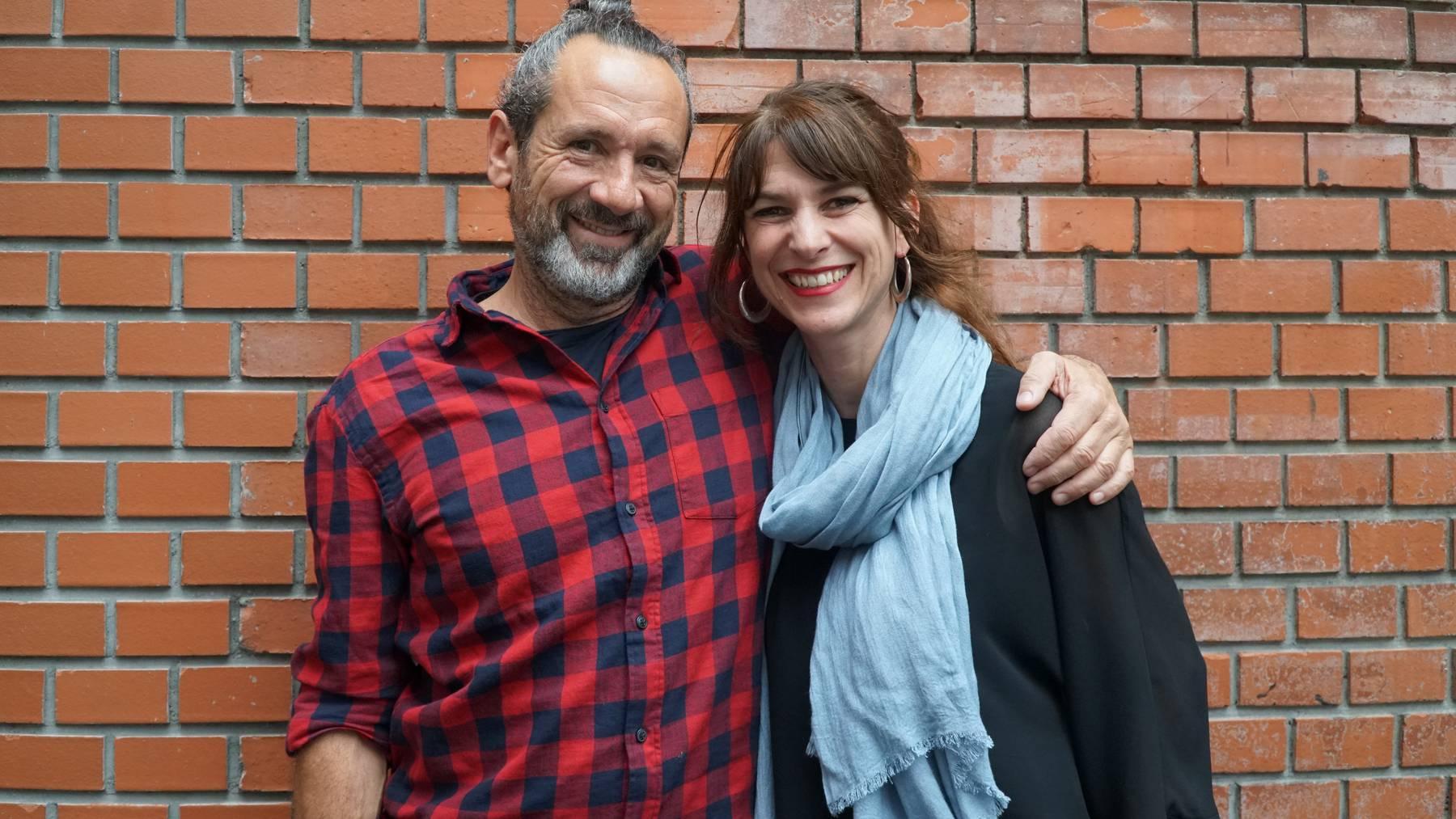 Sharon Zucker mit Stefan Tamo