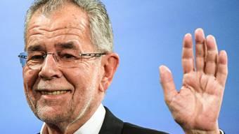 Der neue österreichische Bundespräsident: Alexander Van der Bellen.