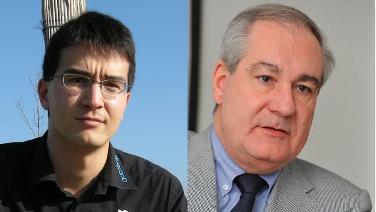 Richard Aschberger und Boris Banga