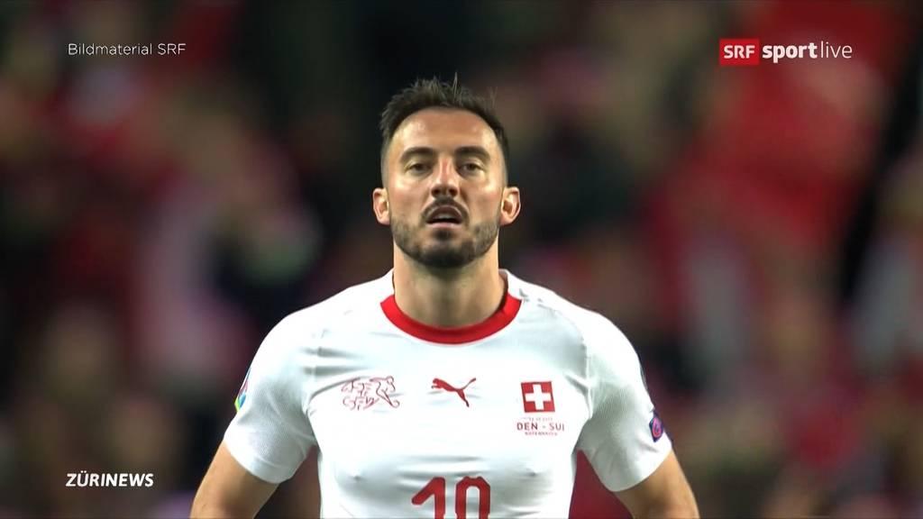 EM-Quali: Schweiz unterliegt Dänemark 0:1