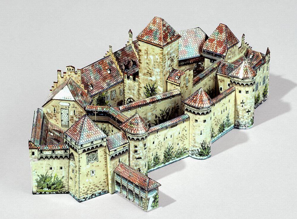 Das «Schloss Chillon» war nichts für Anfänger. Die runden Dächer und schmalen Mauern sorgten auch mal für einen Wutausbruch. (Bild: zVg)
