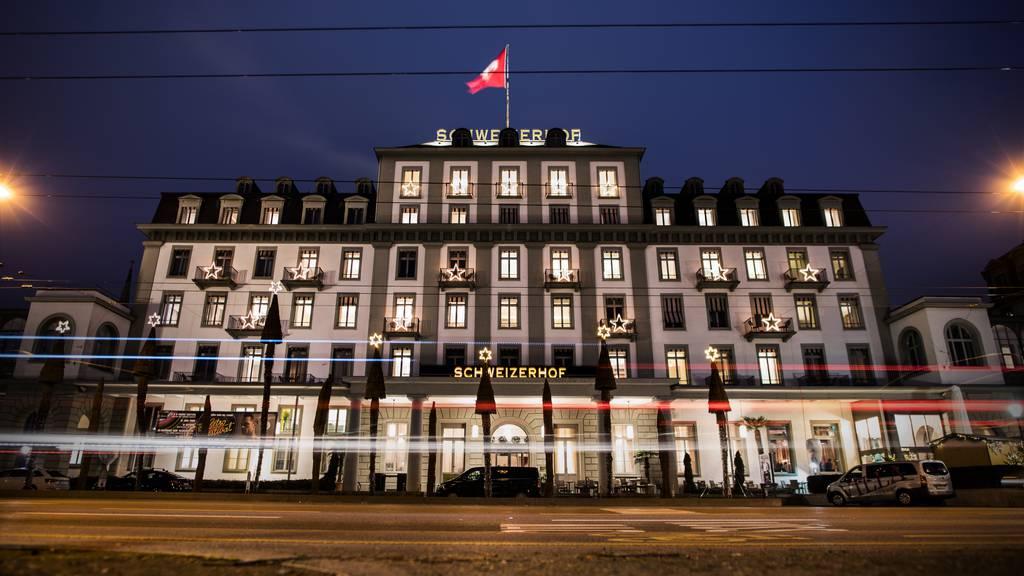 Das Hotel Schweizerhof macht Winterpause