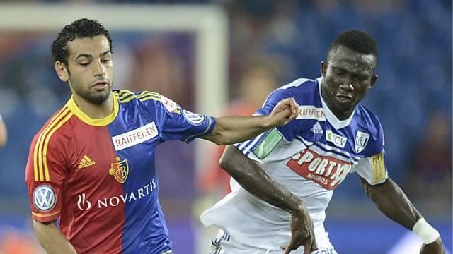 Basels Salah gegen Lausanne sehr auffällig.