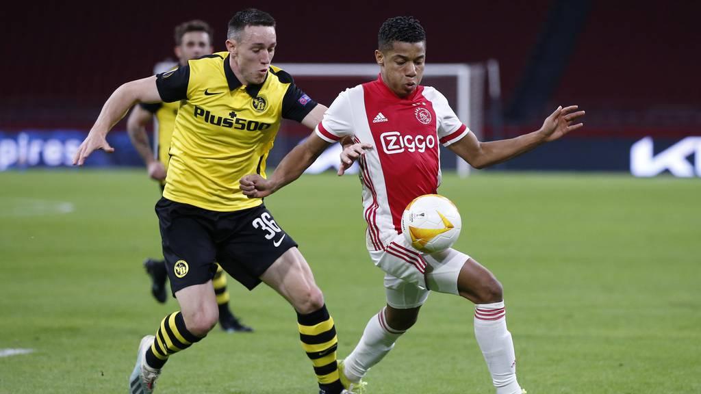 Ajax Amsterdam gewinnt gegen YB mit 3:0