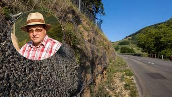 Christoph Saner, Landwirt im Dub, Ramiswil setzt sich für die Bauern am Passwang ein.