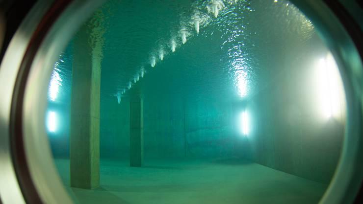 Das Villmerger Trinkwasser – hier im Reservoir Bergmätteli – überschreitet die Grenzwerte von Chlorothalonil. Die Gemeinde nimmt das ernst.