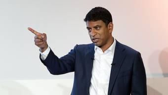 Vasant Narasimhan begründet den massiven Stellenabbau bei Novartis. (Archiv)