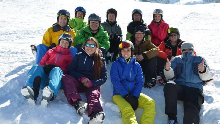 Die Gruppe auf 2550 m.ü.M auf der Morenia.