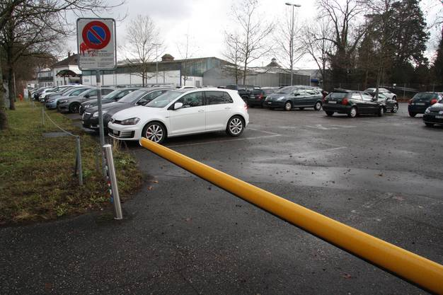 Der bestehende Werkparkplatz muss teilweise nach Westen verlegt werden.