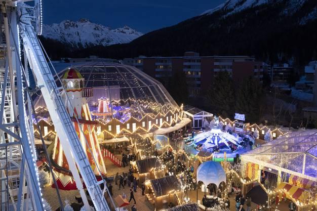 Private Chilbi in St.Moritz für die Vor-Hochzeitsparty eines indischen Paars