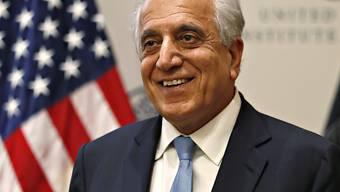 Der US-Gesandte Zalmay Khalilzad zeigte sich zufrieden über die Friedensgespräche der USA mit den Taliban. (Archivbild)