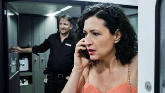 «Tatort»-Kommissarin Liz Ritschard (Delia Mayer) zeigt diesmal in ihrer eleganten Abendgarderobe Emotionen.