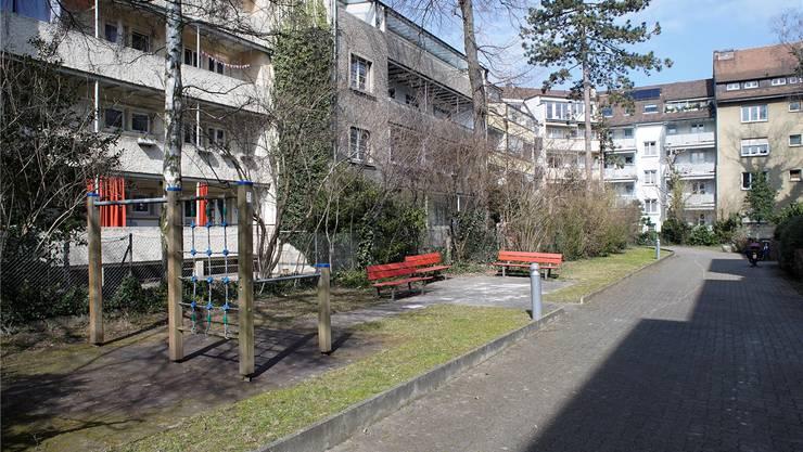 Dieser Hinterhof an der Eichenstrasse hat noch Entwicklungspotenzial. Kenneth Nars