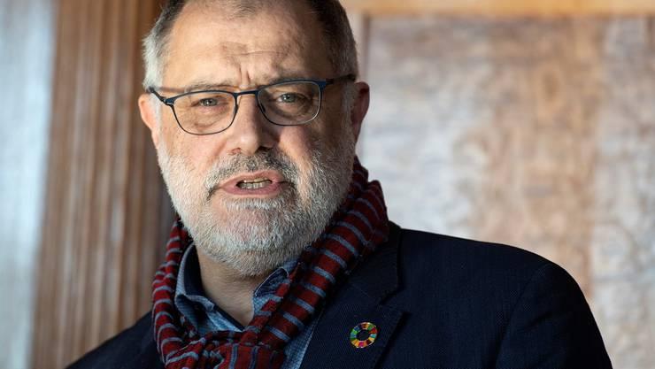 Nationalrat und Organisator der Türkei-Konferenz im Bundeshaus, Carlo Sommaruga (SP/GE).