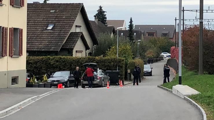 Die Polizei musste am frühen Mittwochmorgen (24. Oktober) nach Boswil ausrücken.