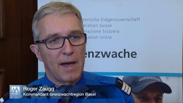 Schweizer Grenzwächter am Anschlag