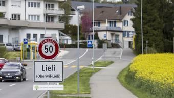 Die Aargauer Gemeinde Oberwil-Lieli.