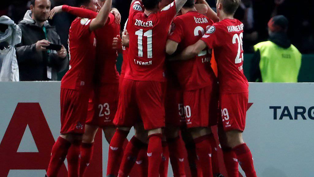 Der 1. FC Köln hatte wieder einmal einen Grund zu feiern.